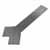 Federal Brace Liberty Hidden Counter Corner Support, Steel