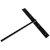 """Federal Brace Hammam Lavatory Support in Black, 3"""" W x 20"""" D x 24"""" H"""