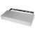 "Federal Brace Floating Shelf Kit in Satin Silver, 24"" W x 10"" D x 3"" H"