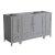 "60"" Gray Vanity Cabinets"
