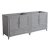 "71"" Gray Double Sink Vanity Cabinets"