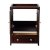 """Oxford 24"""" Mahogany Front Opened View"""