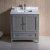 """30"""" Gray Vanity Cabinet w/ Top & Sink"""