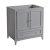 "30"" Gray Vanity Cabinet"