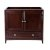 "Fresca Oxford 36"" Mahogany Traditional Vanity Base Cabinet, 35-3/8"" W x 20"" D x 34"" H"