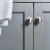 "36"" Gray Vanity w/ Top & Sink Cabinet View"