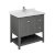 """36"""" Regal Gray Vanity w/ Top & Sink Product Angle View"""