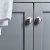 "42"" Gray Vanity w/ Top & Sink Cabinet View"