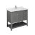 """42"""" Regal Gray Vanity w/ Top & Sink Product Angle View"""