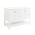 "Fresca Manchester 48"" White Traditional Double Sink Bathroom Vanity Base Cabinet Only, Vanity Base Cabinet: 47-1/5"" W x 20"" D x 34"" H"