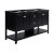"Fresca Manchester 60"" Black Traditional Double Sink Bathroom Vanity Base Cabinet Only, Vanity Base Cabinet: 60"" W x 20"" D x 34"" H"