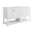 "Fresca Manchester 60"" White Traditional Double Sink Bathroom Vanity Base Cabinet Only, Vanity Base Cabinet: 60"" W x 20"" D x 34"" H"
