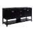 "Fresca Manchester 72"" Black Traditional Double Sink Bathroom Vanity Base Cabinet Only, Vanity Base Cabinet: 71-1/5"" W x 20"" D x 34"" H"