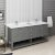 "Fresca Manchester Regal 72"" Gray Wood Veneer Traditional Double Sink Bathroom Vanity Base Cabinet w/ Top & Sinks, Vanity: 72"" W x 20-2/5"" D x 34-4/5"" H"