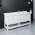 "Fresca Manchester 72"" White Traditional Double Sink Bathroom Vanity Base Cabinet w/ Top & Sinks, Vanity: 72"" W x 20-2/5"" D x 34-4/5"" H"