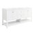 "Fresca Manchester 72"" White Traditional Double Sink Bathroom Vanity Base Cabinet Only, Vanity Base Cabinet: 71-1/5"" W x 20"" D x 34"" H"