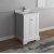 "Fresca Windsor 24"" Matte White Traditional Bathroom Vanity Base Cabinet w/ Top & Sink, Base Cabinet: 24"" W x 20-3/8"" D x 34-5/16"" H"