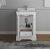 "Windsor 24"" Matte White Vanity w/ Top & Sink View 2"
