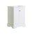 "Fresca Windsor 24"" Matte White Traditional Bathroom Cabinet, 23-7/8"" W x 20-5/16"" D x 33-1/2"" H"