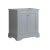 "Fresca Windsor 30"" Gray Textured Traditional Bathroom Cabinet, 29-7/8"" W x 20-5/16"" D x 33-1/2"" H"