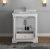 "Windsor 30"" Matte White Vanity w/ Top & Sink View 2"