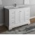 "Fresca Windsor 48"" Matte White Traditional Bathroom Vanity Base Cabinet w/ Top & Sink, Base Cabinet: 48"" W x 20-3/8"" D x 34-5/16"" H"