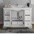 "Windsor 48"" Matte White Vanity w/ Top & Sink View 2"