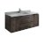 """Formosa 48"""" Vanity w/ Top & Sink Front View Product View"""