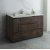 "Fresca Formosa 53"" Floor Standing Modern Vanity Base Cabinet, 53"" W x 20"" D x 34-1/8"" H"