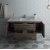 """Formosa 54"""" Vanity w/ Top & Sink Opened View"""