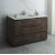 "Fresca Formosa 54"" Floor Standing Modern Bathroom Vanity Base Cabinet w/ Top & Sink, Base Cabinet: 54"" W x 20-3/8"" D x 34-7/8"" H"