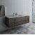 "Fresca Formosa 60"" Wall Hung Single Sink Modern Bathroom Vanity Base Cabinet w/ Top & Sink, Base Cabinet: 60"" W x 20-3/8"" D x 20-5/16"" H"