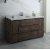 "Fresca Formosa 60"" Floor Standing Single Sink Modern Bathroom Vanity Base Cabinet w/ Top & Sink, Base Cabinet: 60"" W x 20-3/8"" D x 34-7/8"" H"