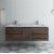 "Formosa 60"" Vanity w/ Top & Sinks Front View"