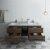 """Formosa 60"""" Vanity w/ Top & Sinks Opened View"""