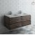 "Fresca Formosa 48"" Wall Hung Double Sink Modern Bathroom Vanity Base Cabinet w/ Top & Sinks, Base Cabinet: 48"" W x 20-3/8"" D x 20-5/16"" H"