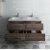 """Formosa 48"""" Vanity w/ Top & Sinks Opened View"""