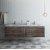 """Formosa 72"""" Vanity Set w/ Top & Sinks Opened View"""