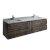 "Formosa 72"" Vanity Set w/ Top & Sinks Product View"