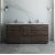 "Formosa 72"" Vanity w/ Top & Sinks Front View"
