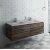 "Fresca Formosa 60"" Wall Hung Double Sink Modern Bathroom Vanity Base Cabinet w/ Top & Sinks, Base Cabinet: 60"" W x 20-3/8"" D x 20-5/16"" H"