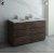 "Fresca Formosa 58"" Floor Standing Double Sink Modern Vanity Base Cabinet, 58"" W x 20"" D x 34-1/8"" H"