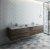 """Formosa 84"""" Vanity Set w/ Top & Sinks"""