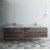 "Formosa 84"" Vanity Set w/ Top & Sinks Front View"