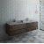 "Fresca Formosa 72"" Wall Hung Double Sink Modern Bathroom Vanity Base Cabinet w/ Top & Sinks, Base Cabinet: 72"" W x 20-3/8"" D x 20-5/16"" H"