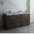 "Fresca Formosa 72"" Floor Standing Double Sink Modern Vanity Base Cabinet, 70"" W x 20"" D x 34-1/8"" H"