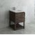 "Fresca Formosa 24"" Floor Standing Open Bottom Modern Bathroom Vanity Base Cabinet w/ Top & Sink, Base Cabinet: 24"" W x 20-3/8"" D x 34-7/8"" H"