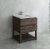 "Fresca Formosa 30"" Floor Standing Open Bottom Modern Bathroom Vanity Base Cabinet w/ Top & Sink, Base Cabinet: 30"" W x 20-3/8"" D x 34-7/8"" H"
