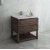 "Fresca Formosa 36"" Floor Standing Open Bottom Modern Bathroom Vanity Base Cabinet w/ Top & Sink, Base Cabinet: 36"" W x 20-3/8"" D x 34-7/8"" H"
