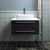 """30"""" Espresso Vanity w/ Top & Sink Front View"""